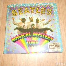 """Disques de vinyle: THE BEATLES - MAGICAL MYSTERY TOUR - ODEON 1967 - """" 2 DISCOS + LIBRETO INTERIOR """". Lote 212821000"""