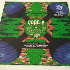 Discos de vinilo: CODE-9 / PROXYMA - ATMOSPHERE. Lote 212825018