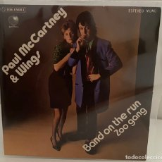 Dischi in vinile: PAUL MCCARTNEY & WINGS-BAND ON THE RUN/ZOO GANG/SINGLE 1974 APPLE RECORDS,ESPAÑA.. Lote 212827047