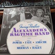 Disques de vinyle: ALEXANDER´S RAGTIME BAND.IRVING BERLIN. BANDA SONORA LP USA T.POWER-ALICE FAYE. Lote 212834817