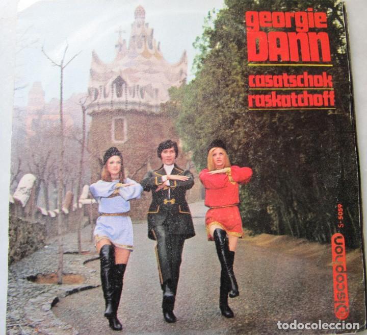GEORGIE DAN CASATSCHOK, DISCOPHON (Música - Discos - Singles Vinilo - Solistas Españoles de los 70 a la actualidad)