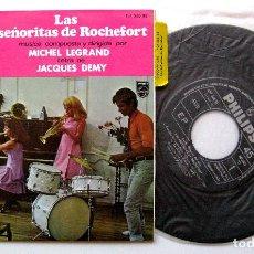 Discos de vinilo: MICHEL LEGRAND - LAS SENORITAS DE ROCHEFORT - EP PHILIPS 1967 BPY. Lote 212838866