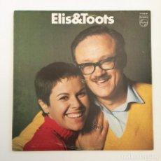 Discos de vinilo: ELIS REGINA & TOOTS THIELEMANS – ELIS & TOOTS SWEDEN 1969 PHILIPS. Lote 212840007