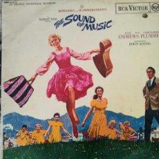 Discos de vinilo: SONRISAS Y LAGRIMAS THE SOUND OF MUSIC BSO OST LP 1965 RCA. Lote 212840423