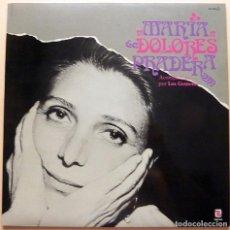 Discos de vinilo: MARÍA DOLORES PRADERA CON LOS GEMELOS - LP - SERDISCO (ZAFIRO) - 1981 - NUEVO (NM / NM). Lote 212842543