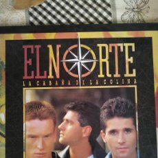Discos de vinilo: EL NORTE - LA CABAÑA DE LA COLINA LP. Lote 212844017