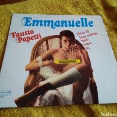 Discos de vinilo: 43-LP VINILO. FAUSTO PAPETTI. EMMANUELLE. Lote 212845998