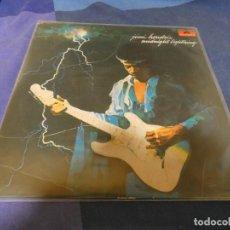 Discos de vinilo: EXPRO LP JIMI HENDRIX SOLO PORTADA NO HAY DISCO BUEN ESTADO. Lote 212851467