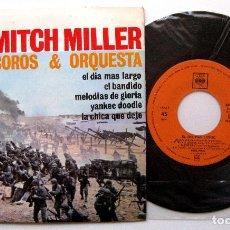 Discos de vinilo: MITCH MILLER COROS & ORQUESTA - EL DÍA MÁS LARGO - EP CBS 1962 BPY. Lote 212868103