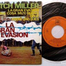 Discos de vinilo: MITCH MILLER - LA GRAN EVASIÓN +3 - EP CBS 1963 BPY. Lote 212869123