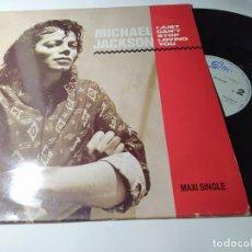 Discos de vinilo: MAXI - MICHAEL JACKSON – I JUST CANT STOP LOVING YOU - EPC 650202 6 ( VG+ /VG+) SPAIN 97. Lote 257517870
