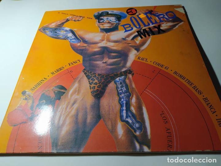 LP - VARIOUS ?– BOLERO MIX 3 -MX LP 107, - CARPETA ( VG+ /G+) SPAIN 1988 (Música - Discos - LP Vinilo - Disco y Dance)