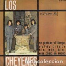 Discos de vinilo: LOS CHEYENES NO PIERDAS EL TIEMPO/ESTOY TRISTE/BLA BLA BLA/ERES COMO UN SUEÑO EP 1966 RCA VICTOR. Lote 212874590