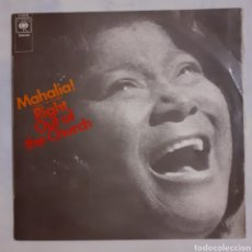 Discos de vinilo: MAHALIA JACKSON. RIGHT OUT OF THE CHURCH. ESPAÑA 1970. S-63618.. Lote 212875450