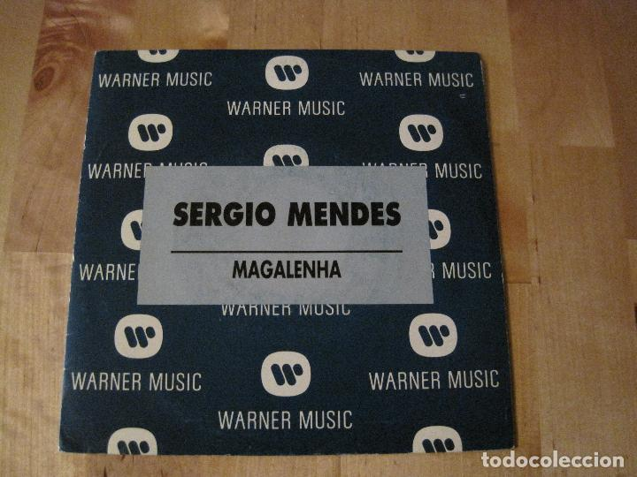 Discos de vinilo: SINGLE SERGIO MENDES MAGALENHA WARNER PROMO SPAIN - Foto 1 - 224412125