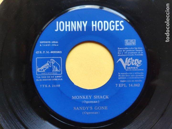 Discos de vinilo: JOHNNY HODGES - EP Spain PS - EX+ * MONKEY SHACK * TOP MOD JAZZ * Año 1964 * 7EPL 14.042 - Foto 4 - 212881313