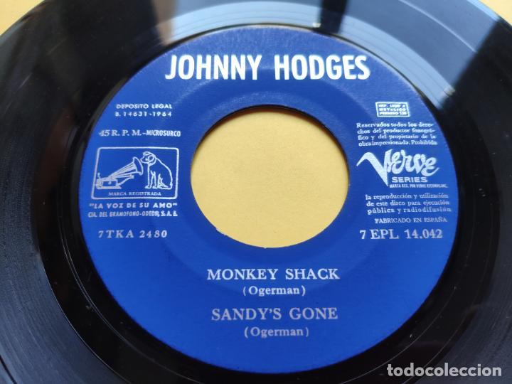 Discos de vinilo: JOHNNY HODGES - EP Spain PS - EX+ * MONKEY SHACK * TOP MOD JAZZ * Año 1964 * 7EPL 14.042 - Foto 5 - 212881313