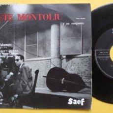 Discos de vinilo: TETE MONTOLIU Y SU CONJUNTO - EP SPAIN PS - 2º VOLUMEN * DELAUNAY' S DILEMA + 3 * AÑO 1959. Lote 212881857