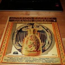 Discos de vinilo: MOSAICO ESPAÑOL - ANTONIO MOLINA - JUANITA REINA - LOLA FLORES - PEPE BLANCO - PRAL DE LA BISBAL. Lote 212886860