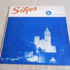 Discos de vinil: EVA GREINER Y TRÍO VOCAL LOS PEPES - SITGES -, EP, PLAYA DE ORO + 1, AÑO 1961. Lote 212897766
