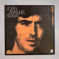 Discos de vinilo: JOAN MANUEL SERRAT. GATEFOLD. NLX-1042. 1974. DISCO EX. CARÁTULA VG+. Lote 212901471