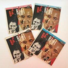 Discos de vinilo: BENNY GOODMAN – B.G. IN HI-FI 4 DISCOS HOLANDA 1954 CAPITOL RECORDS. Lote 212902695