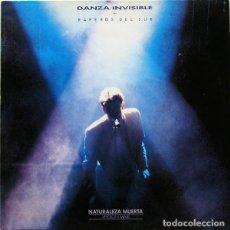 Discos de vinilo: DANZA INVISIBLE + RAPEROS DEL SUR - NATURALEZA MUERTA - MAXI-SINGLE SPAIN 1990. Lote 212903642