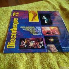 Discos de vinilo: 49-LP DISCO VINILO. DISCOTHEQUE 72.. Lote 212916413