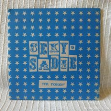 Disques de vinyle: SEXY SADIE - MR NOBODY / MOONAGE DAYDREAM (DAVID BOWIE) SINGLE SUBTERFUGE RECORDS 1996. Lote 212922076