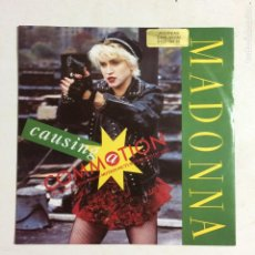 Discos de vinilo: MADONNA – CAUSING A COMMOTION / JIMMY JIMMY GERMANY 1987 SIRE. Lote 212921888