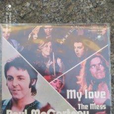 Discos de vinilo: PAUL MCCARTNEY & WINGS-MY LOVE = MI AMOR - SINGLE VINILO PERFECTO ESTADO. Lote 212925212