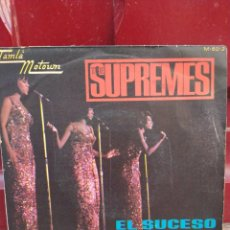 Discos de vinilo: THE SUPREMES. EL SUCESO. SINGLE SPAIN 1967. BUEN ESTADO. Lote 212927282
