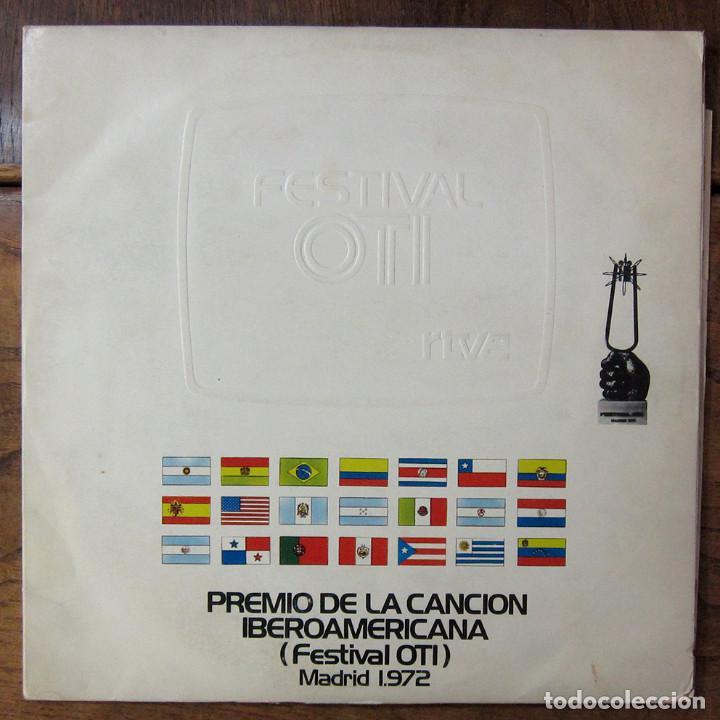 FESTIVAL OTI, PREMIO DE LA CANCIÓN IBEROAMERICANA - 1972 - DOBLE - MARISOL - RTVE (Música - Discos - LP Vinilo - Otros Festivales de la Canción)