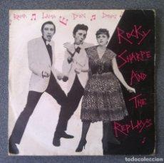 Discos de vinilo: VINILO EP ROCKY SHARPE AND THE REPLAYS. Lote 212937702