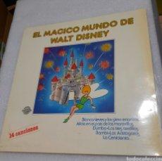 Discos de vinilo: EL MAGICO MUNDO DE WALT DISNEY. PERFIL. Lote 212940002