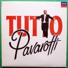 Discos de vinilo: LUCIANO PAVAROTTI : TUTTO PAVAROTTI (SONGS & ARIAS) - LP DOBLE - POLYGRAM - 1989 - NUEVO (NM / NM). Lote 212946477