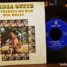 Discos de vinilo: MARIA OSTIZ - N´AVEIRIÑA DO MAR. Lote 212958717