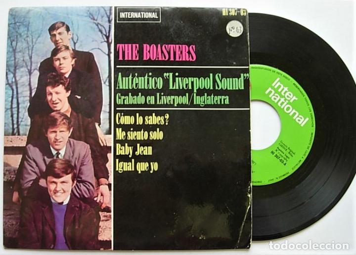 """THE BOASTERS VERY RARE SPAIN 7"""" EP 1964 AUTENTICO LIVERPOOL SOUND MERSEYBEAT (Música - Discos de Vinilo - EPs - Pop - Rock Internacional de los 50 y 60)"""