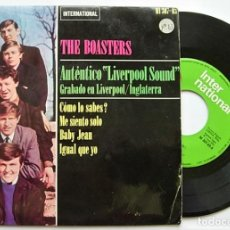 "Discos de vinilo: THE BOASTERS VERY RARE SPAIN 7"" EP 1964 AUTENTICO LIVERPOOL SOUND MERSEYBEAT. Lote 212963397"