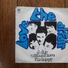 Discos de vinilo: THE LOVE AFFAIR - A DAY WITHOUT LOVE + I'M HAPPY. Lote 212968162