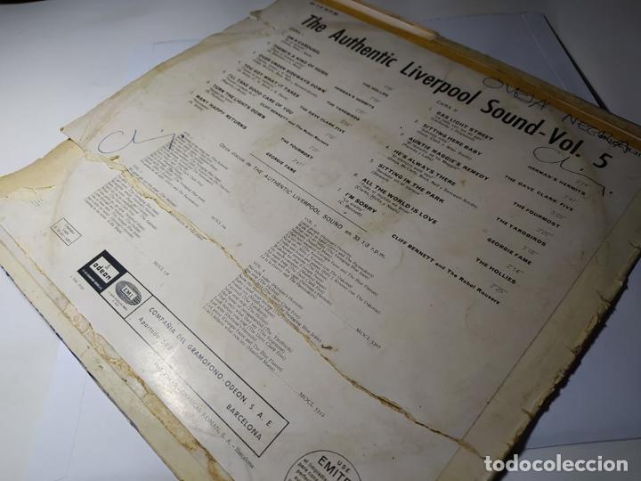 Discos de vinilo: LP - The Autentic Liverpool Sound Vol.5 - MOCL 5.315 ( G+ / F) Spain 1967 ** Leer** - Foto 2 - 212970502
