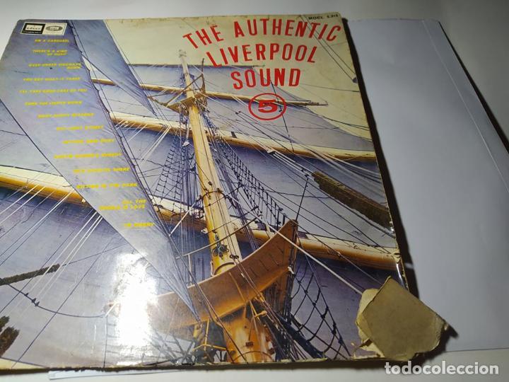 LP - THE AUTENTIC LIVERPOOL SOUND VOL.5 - MOCL 5.315 ( G+ / F) SPAIN 1967 ** LEER** (Música - Discos - LP Vinilo - Pop - Rock Internacional de los 50 y 60)
