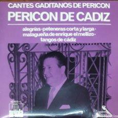 Discos de vinilo: VINILO PERICO DE CÁDIZ CANTES GADITANOS. Lote 212973415