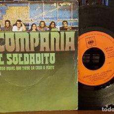 Discos de vinilo: LA COMPAÑIA - EL SOLDADITO. Lote 212978232