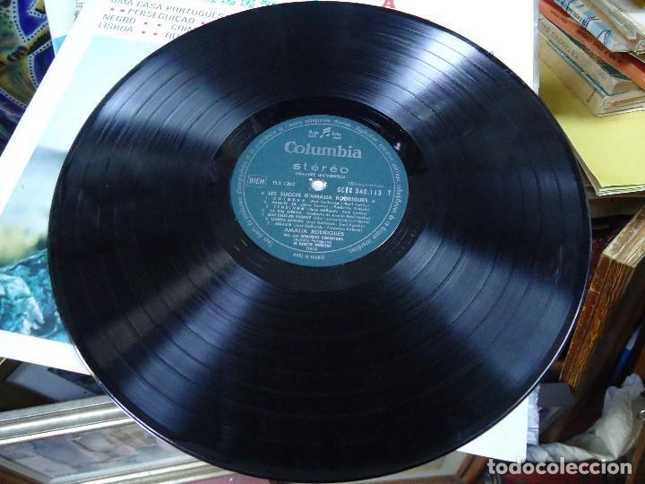 Discos de vinilo: Amalia Rodrigues* ?– Les Succès DAmalia Rodrigues Á L`OLYMPIA MADE IN FRANCE LP Una Casa Portugues - Foto 4 - 212997250
