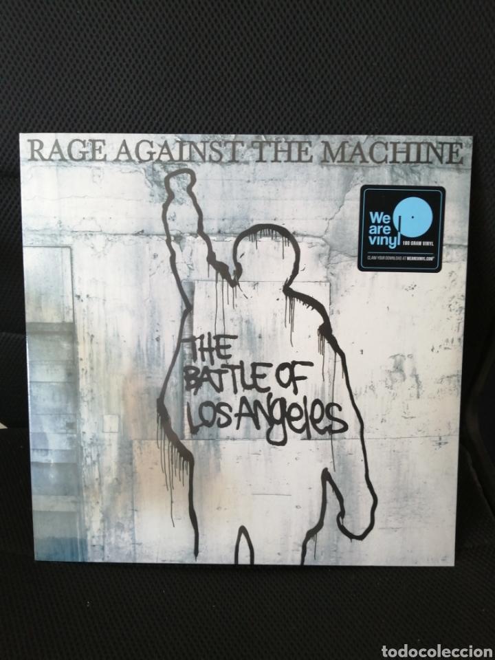 RAGE AGAINST THE MACHINE - THE BATTLE OF LOS ANGELES (VINILO 180GRMS PRECINTADO) (Música - Discos - LP Vinilo - Punk - Hard Core)