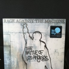 Disques de vinyle: RAGE AGAINST THE MACHINE - THE BATTLE OF LOS ANGELES (VINILO 180GRMS PRECINTADO). Lote 213002997