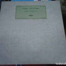 Discos de vinilo: LP CHOPIN LES 14 VALSES POR DINU LIPATTI MADE IN FRANCE. Lote 213003591
