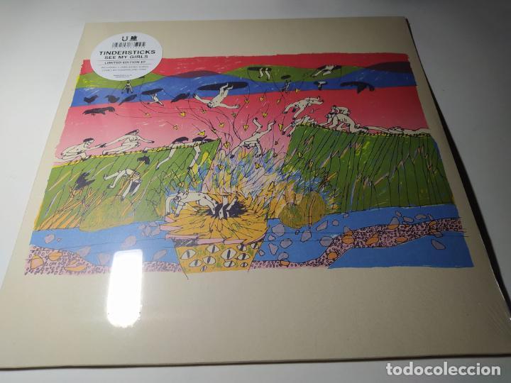 EP - TINDERSTICKS – SEE MY GIRLS - LUCKY DOG 26 ¡ NUEVO! (Música - Discos de Vinilo - EPs - Pop - Rock Extranjero de los 90 a la actualidad)