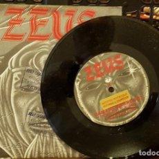 Discos de vinilo: ZEUS -DAMA DE HIERRO 1983 PROMO - DISCO EXCELENTE. Lote 213041705